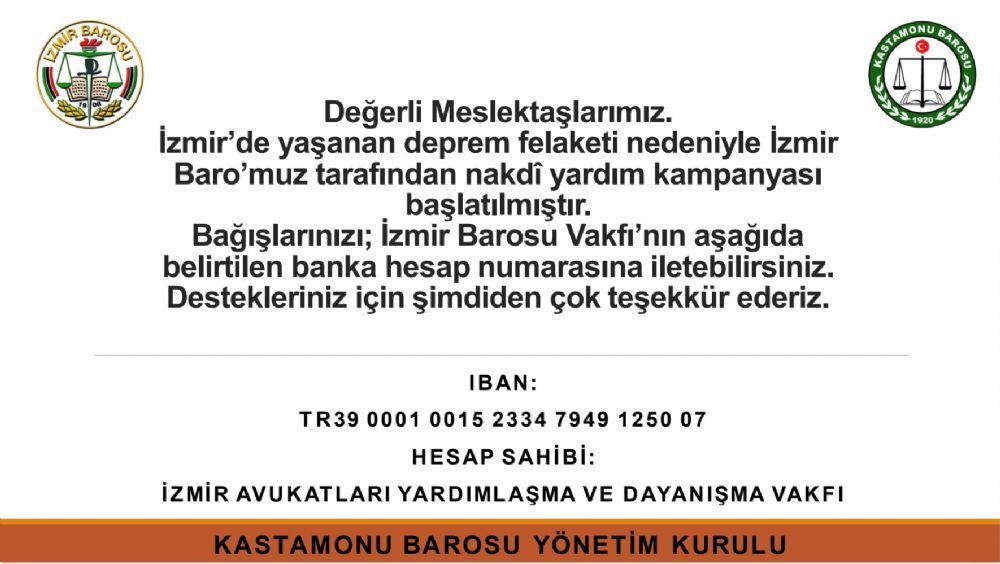 İzmir Avukatlarının Yanındayız